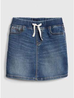 Kids Denim Pull-On Skirt