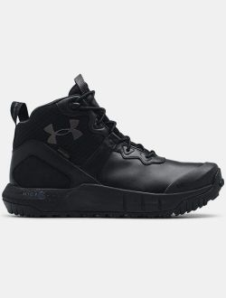 Men's UA Micro G® Valsetz Mid Leather Waterproof Tactical Boots
