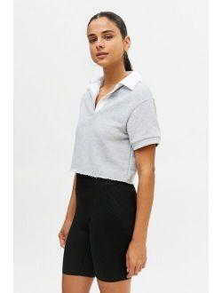 Twenty Montreal Sunnyside Cropped Polo Shirt