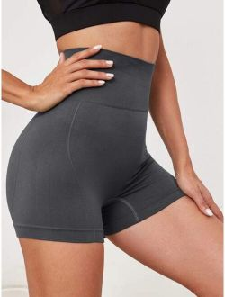 Seamless Active High-Rise Shorts