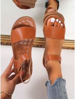 Velcro Strap Sport Sandals