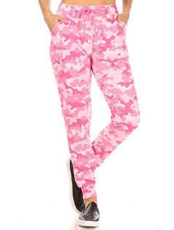 ShoSho Womens Casual Joggers Pants Sweatpants Yoga Bottoms Soft Brushed Sports Track Pants