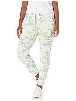 Jeans Women's Camo Rib Trim Jogger