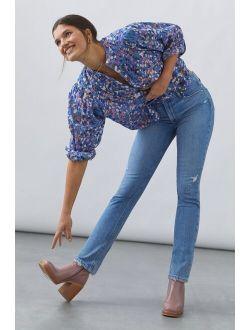 Sarah Slim Straight Jeans