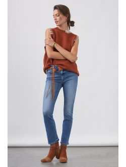 MOTHER The Dazzler Slim Straight Jeans