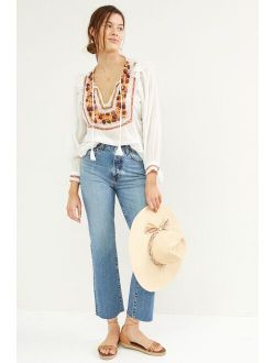 AG Jeans AG The Alexxis Cropped Straight Jeans