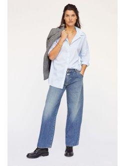 Closed Nolin Mid-Rise Wide-Leg Jeans