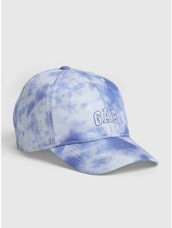 S Tie-dye Gap Logo Baseball Cap