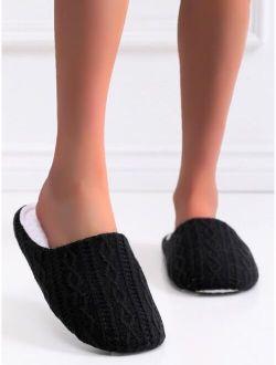 Geometric Textured Slippers