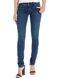Hudson Jeans Collin Mid-Rise Skinny in Obscurity