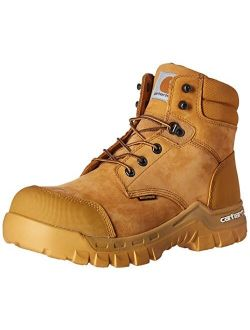 """Men's 6"""" Rugged Flex Waterproof Breathable Composite Toe Leather Work Boot"""
