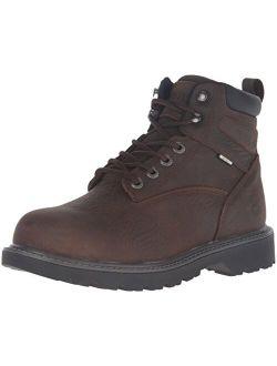Men's Floorhand 6 Inch Waterproof Steel Toe Work Shoe