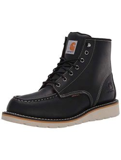 Men's 6 Inch Waterproof Wedge Soft Toe Work Boot