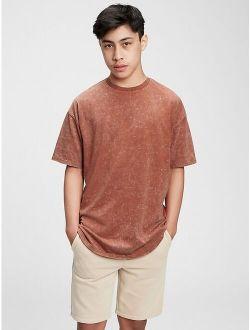 Teen 100% Organic Cotton Oversized T-Shirt