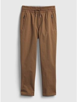 Kids Pull-On Hybrid Pants with QuickDry