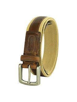 Men's Comfort Stretch Casual Fabric Belt
