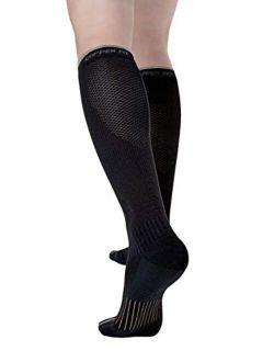 Copper Fit 2.0 Easy-On Easy-Off Knee High Compression Socks