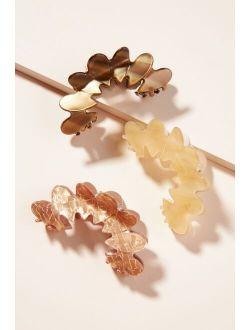 Blossom Claw Hair Clip Set
