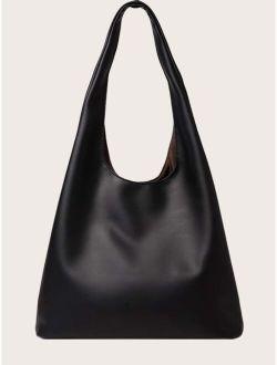 Minimalist Plain Shoulder Bag
