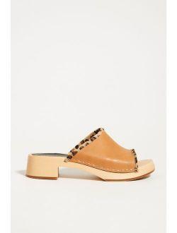 Swedish Hasbeens Clog Slide Sandals