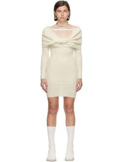 Jacquemus Off-White La Montagne 'La Robe Ascua' Dress