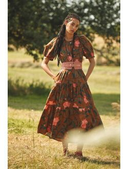Conditions Apply Floral Maxi Dress