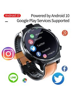 Digital Wristwatches Appllp Pro 4g Smart Watch Men Wifi Gps Watches 4gb 64gb Android 10.0 Watch Phone