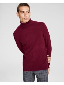 Club Room Men's Cashmere Turtleneck Sweater, Created for Macy's