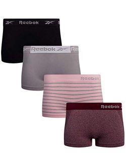 Women's Underwear - Seamless Boyshort Panties (4 Pack)