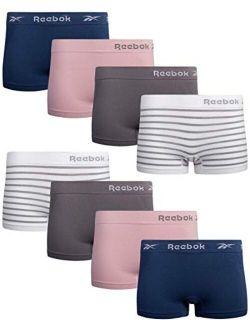 Women's Underwear - Seamless Boyshort Panties (8 Pack)