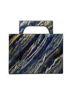 Women Acrylic Clutch Purse Fashion Evening Shoulder Bag Acrylic