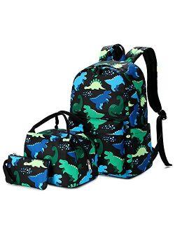 Ecodudo Cute Lightweight Kids Backpack Girls School Backpacks Boys Bookbags with Lunch Bag