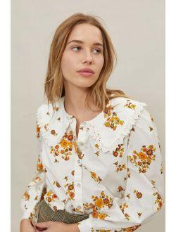 UO Prairie Collared Button-Down Shirt