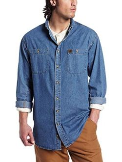 Riggs Workwear Men's Denim Work Shirt