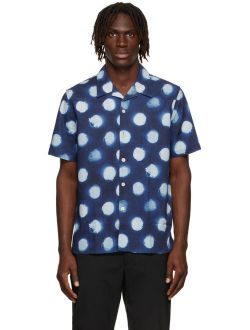 PS by Paul Smith Navy Casual Fit Short Sleeve Shirt
