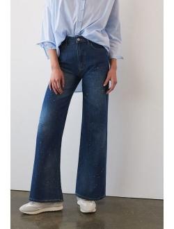 Pilcro The Annie Wide-Leg Jeans