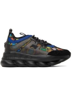 Black Medusa Amplified Chain Reaction Sneakers