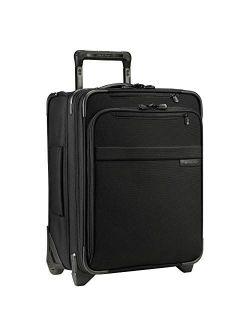 Baseline-softside Cx Expandable Medium Checked Upright Luggage, Black, 25-inch
