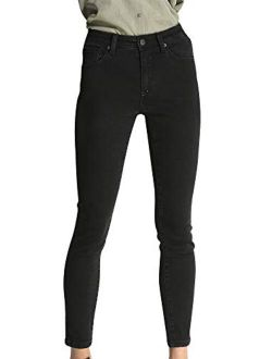 Women's Casual Denim Butt-lifting Jeans Pant High Waist Skinny Jeans Pant