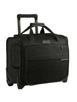 Baseline-softside Rolling Cabin Upright Bag, Navy, Underseater 16-inch