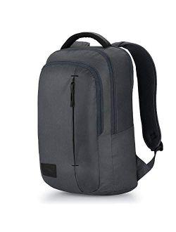 Business Slim Pack Laptop Backpack, Mercury Heather/black, One Size