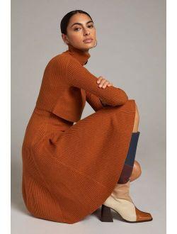 Maeve Flouncy Sweater Set