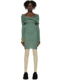 Jacquemus Green La Montagne 'La Robe Ascua' Dress