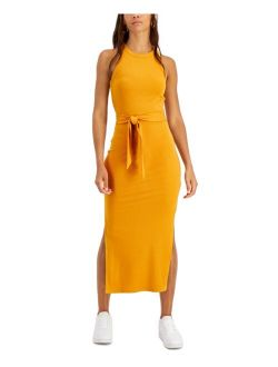 Solid Ribbed Knit Midi Dress, Created for Macy's