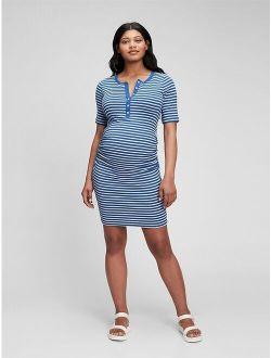 Maternity Modern Henley Dress