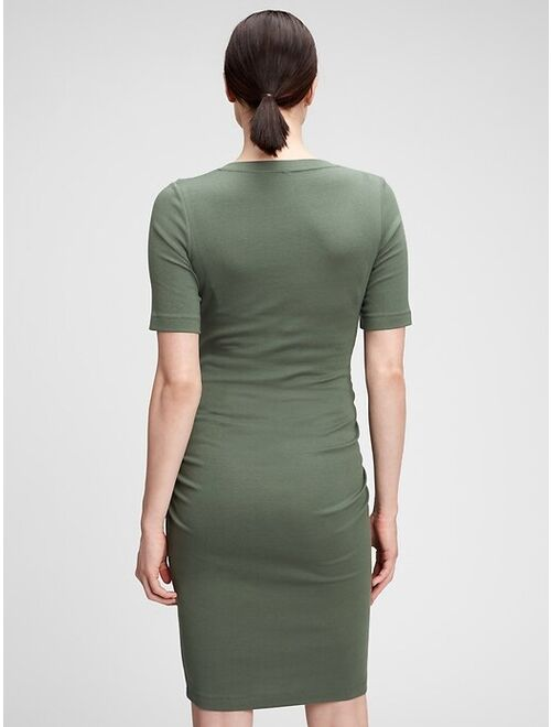 GAP Maternity Modern Henley Dress