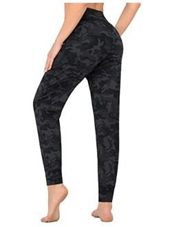 Women's Joggers With Pockets, High Waist Athletic Joggers For Women, Extra Comfy Running Yoga Leggings Joggers