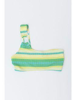 Solid & Striped The Desi One-Shoulder Bikini Top