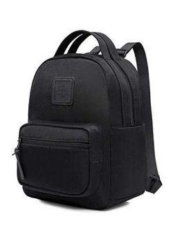 Ettasa Small Backpack Little Mini Purse Cute For Work, Trip And Everyday