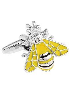 Yellow Bee Pair Cufflinks